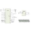 Rievtech RI3000-2S0015G 1 fázisú 1,5 kW frekvenciaváltó