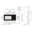 Rievtech PR-18DC-DAI-R-N Ethernet PLC webszerverrel és MQTT-vel (relés kimenet)