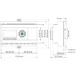 Rievtech PR-26DC-DAI-RT-4G 4G PLC webszerverrel és beépített MQTT-vel