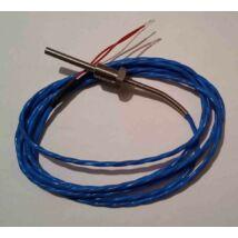 Hőmérséklet érzékelő, típus PT100 -50 - 200 °C, vezetékhossz: 2 m