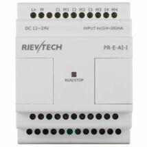 Rievtech PR-E-AI-V/I Analóg bemeneti modul (0-10V/0-20mA)