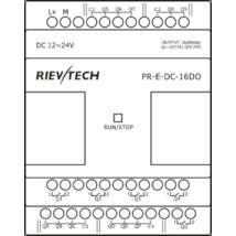 Rievtech PR-E-DC-16DO Relés bővítő modul