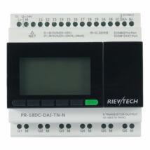 Rievtech PR-18DC-DAI-TN-N Ethernet PLC webszerverrel és MQTT-vel (tranzisztoros kimenet)