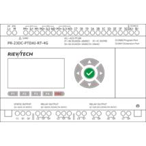 Rievtech PR-23DC-PTDAI-RT-4G 4G PLC PT100 bemenetekkel