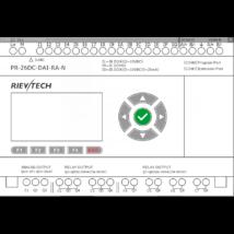 Rievtech PR-26DC-DAI-RA-N Ethernet PLC webszerverrel és beépített MQTT-vel