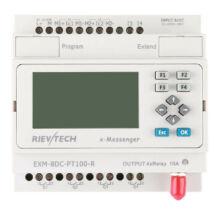 Rievtech EXM-8DC-PT100-R-HMI GSM/GPRS PLC