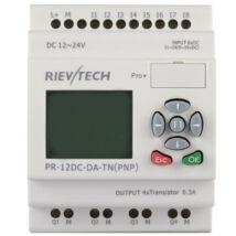 Rievtech PR-12DC-DA-TN PLC (tranzisztoros kimenet)
