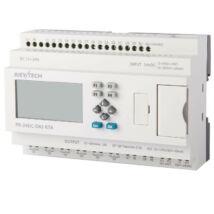 Rievtech PR-24DC-DAI-RTA PLC (relés, tranzisztoros és analóg kimenet)