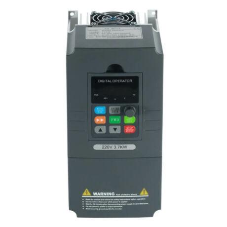 Rievtech RI3000-2S0037G 1 fázisú 3,7 kW frekvenciaváltó