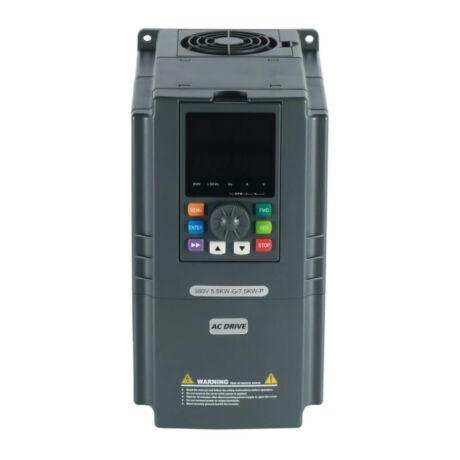 Rievtech RI3000-4T0055G/4T0075P 3 fázisú 5,5/7,5 kW frekvenciaváltó