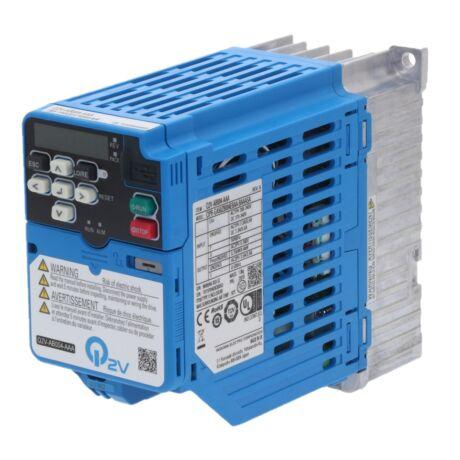OMRON Q2V Q2V-AB004-AAA 0,55kW 1 fázisú frekvenciaváltó