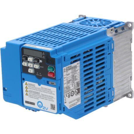 OMRON Q2V-AB010-AAA 1,5kW 1 fázisú frekvenciaváltó