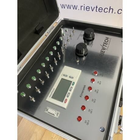 Rievtech PLC Oktató Bőrönd