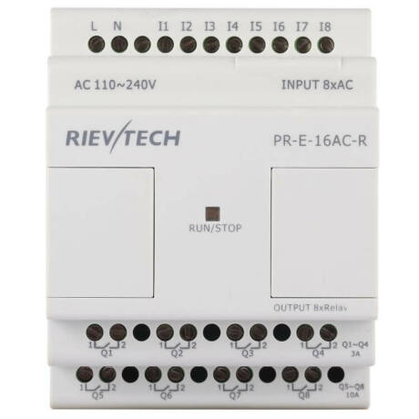 Rievtech PR-E-16AC-R AC bővítő modul