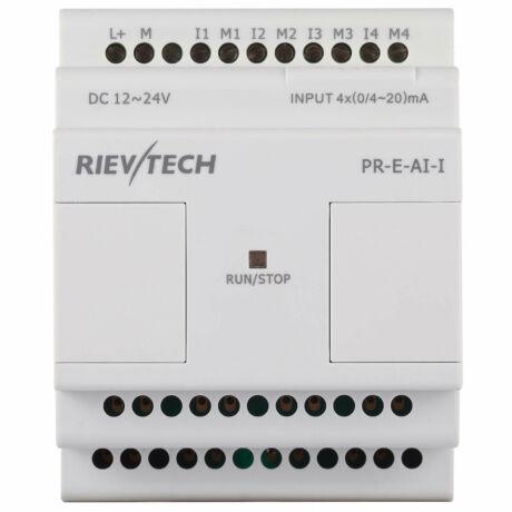 Rievtech PR-E-AI-I Analóg bemeneti modul (0-20mA)