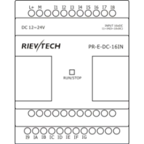 Rievtech PR-E-DC-16IN Bemeneti bővítő modul